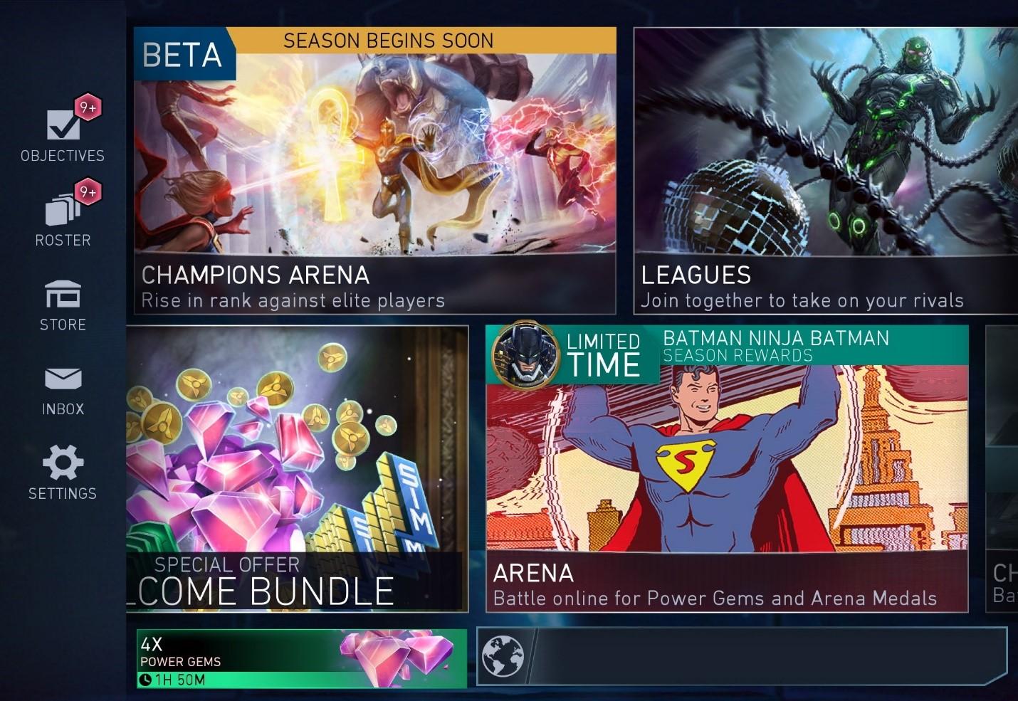 Injustice 2 Mobile - Arena Invasions – DC Games