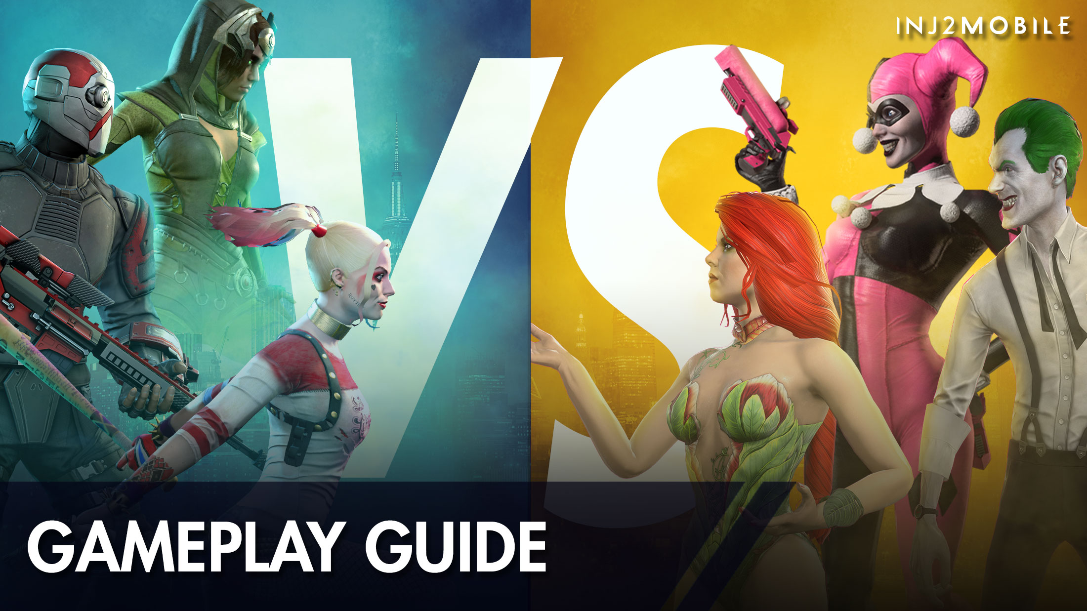 Injustice 2 Mobile Team Synergy Guide Dc Games